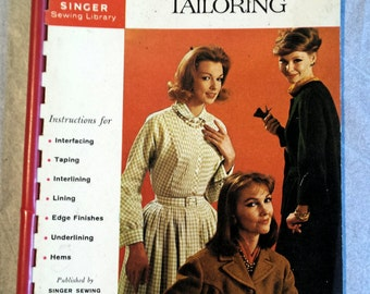 Singer Sewing Library Book No.118 How to do Desmmaker Tailoring