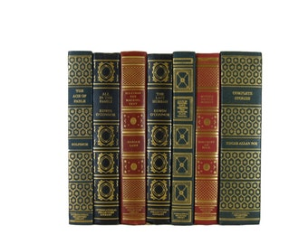 Vintage Books for Interior Design and Home Decor, International Collector's Library