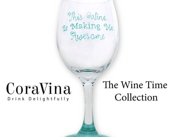 Wine Glasses, Funny, Glasses, Hand Painted
