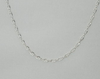 Sterling 3mmFigure 8 Large Chain