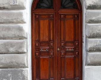 Siena Italy, oak door, Italian architecture, Italy art print, Italy home decor, fine art photography, home decor, front foyer decor, 16x24