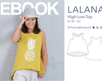 LALANA - High-Low Top eBook