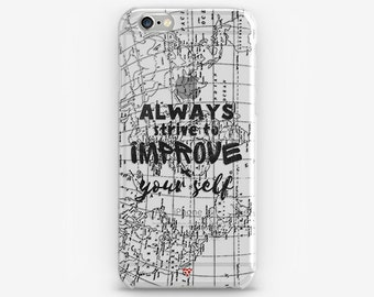 Map iPhone 8 Case iPhone X Case Gift for Him iPhone 7 Plus Transparent iPhone 6 Case Clear iPhone 7 iPhone SE Traveler iPhone 5 Galaxy S8