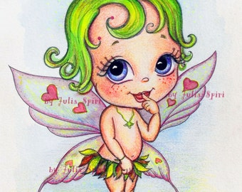 Digi Stamps, Scrapbooking printable, Digital stamp, Baby stamps, Babies, Baby Fairy, Child, Fairy. The Baby Collection. The Baby Fairy