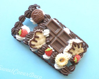 Galaxy S4 - Chocolate and strawberries phone case