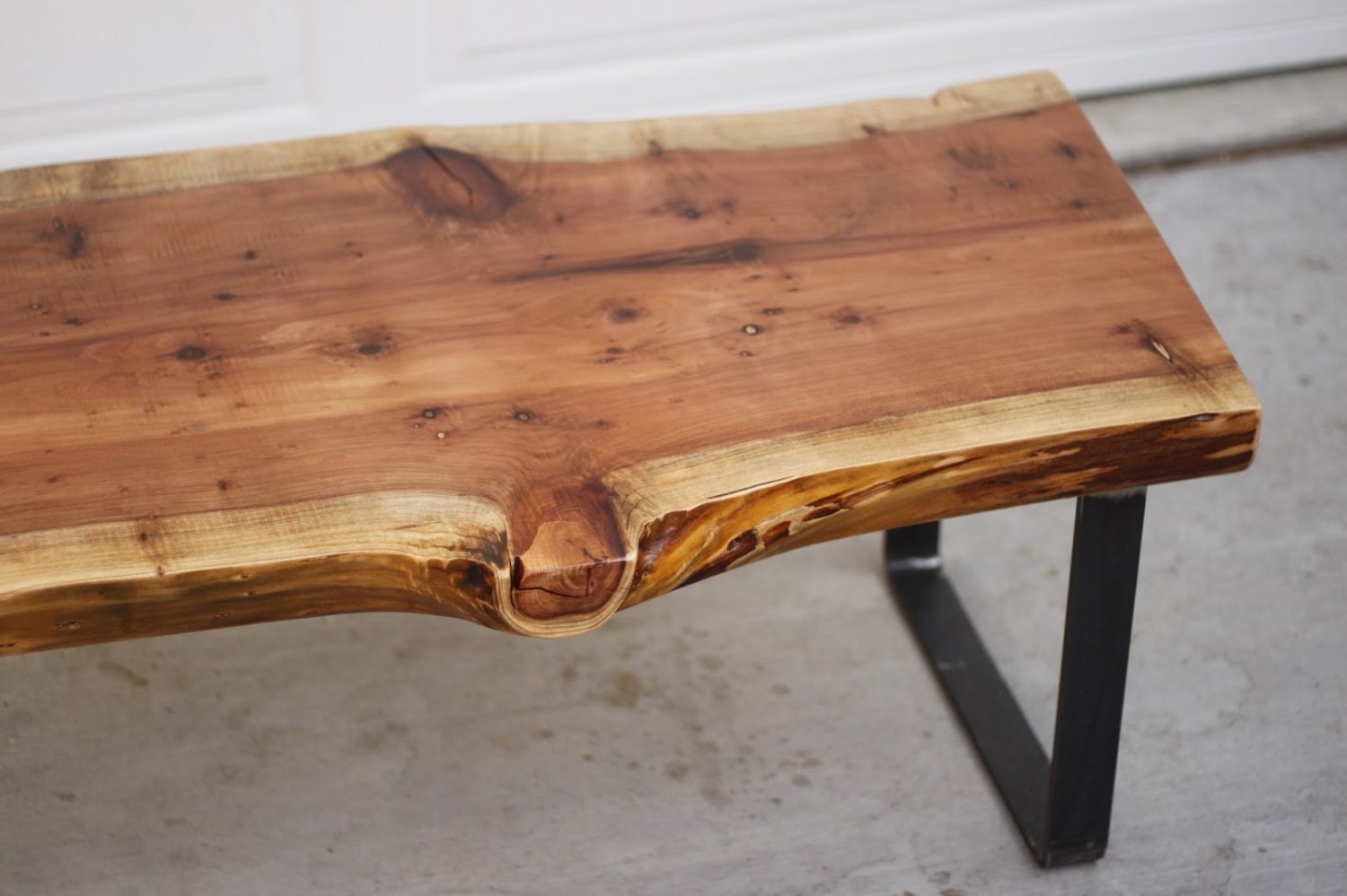 Wood slab coffee table for Wood slab coffee table