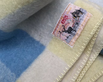 Vintage Dutch blanket — made by AaBe