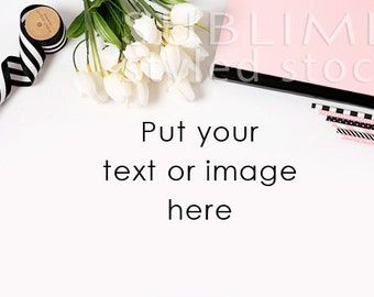 Styled Stock Photography / Styled Desktop  / Background Photo / Mock Up / Flat lay / Social Media / JPEG Digital Image / StockStyle-673
