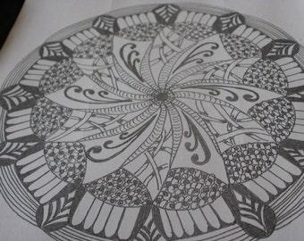doodle mandala 3