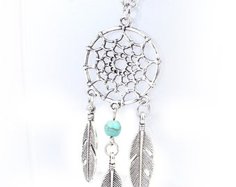 Native American Dream Catcher Necklace -- Free Shipping U.S. only (Except AK & HI)