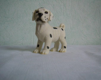 Figure, Dalmatian, ceramic dog, collection