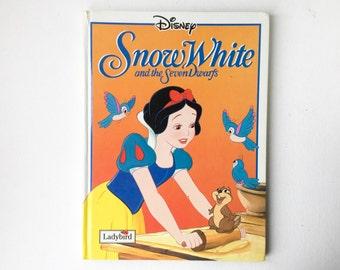 Vintage Disney Snow White  Book, Large Format Ladybird Book, 1st Edition, Hardback, 1993, 01145