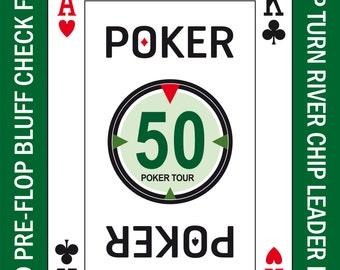 Poker Casino Las Vegas Art Print Vintage Poster Decoration