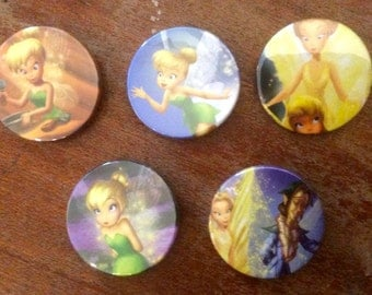 Tinkerbell & Faries, Disney Inspired Badges/Pins