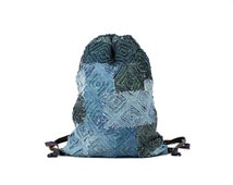 jeans backpack recycled