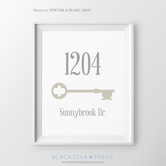 Personalized home address sign first apartment house warming for Gifts for first apartment