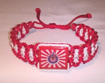 Very nice Handmade Chivas Guadalajara Bracelet