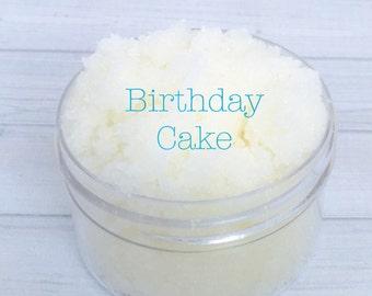 Birthday Cake Sugar Lip Scrub, lip scrub, sugar scrub, exfoliate