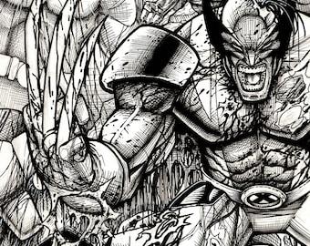 CUSTOM Comic Book Sketch Cover