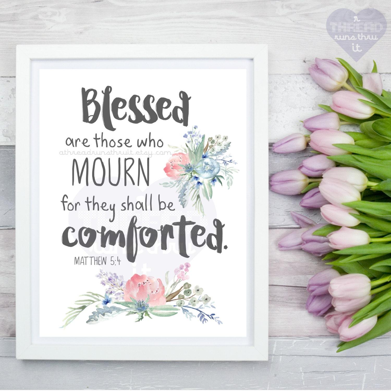 Baby loss ornaments - Memorial Print Bible Quote Art Bible Quote Mourning Grief Bible Quote Infant