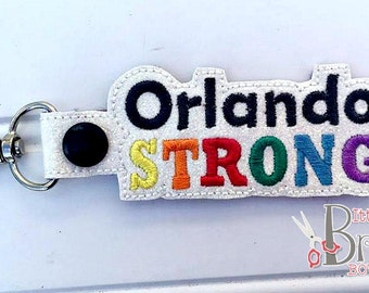 Orlando Strong - Keychain