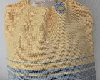Crochet Beach/Tote/Shopping  Bag