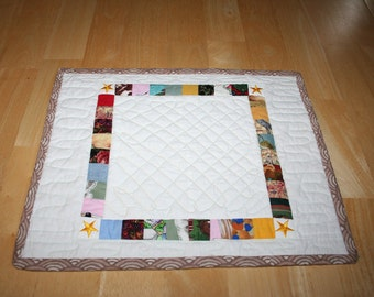 Placemats--Set of 4--Squares Within Squares-- Shipping Included