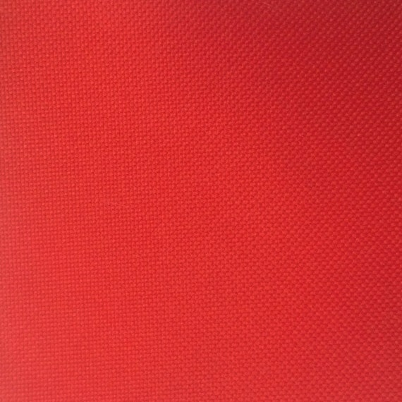 Red Canvas Fabric Waterproof Outdoor 60 Wide 600 Denier