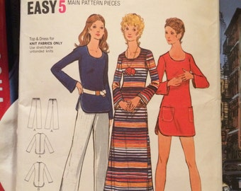 Misses' Tunic, Dress, Cover-Up and Pants