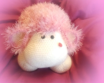 soft toy crochet toy amigurumi cuddly sheep crochet sheep handmade