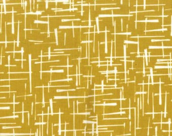 Haystack in Gold from House of Hoppinton by Violet Craft for Michael Miller Fabrics DC5577-GOLD-D