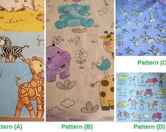 Crib Duvet Cover + Crib Bumper Cover 2 Piece Set SELECT YOUR PATTERN.  Crib Quilt Cover - Nursery Bedding \ Nursery Decor