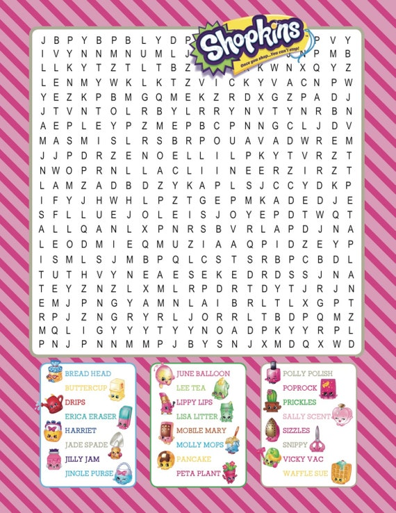 It is a graphic of Smart Shopkins Free Printables