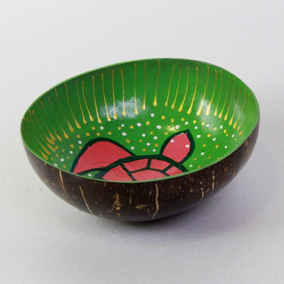 Classic Oriental Decorative Multipurpose Handmade Coconut Shell Handcraft Bowl (PC 24)