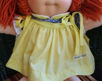 Red haired cabbage patch kid