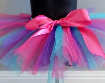 Pink, Purple and Teal Tutu