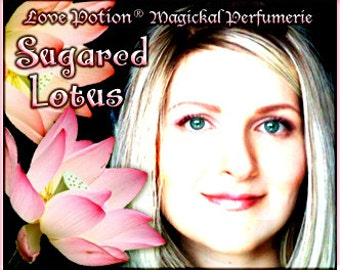 Sugared Lotus SPRAY - Layerable Perfume - 1 fl.oz. Cologne Spray - Love Potion Magickal Perfumerie