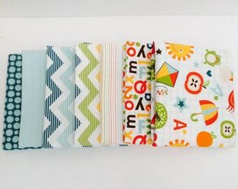 SALE! 1/2 Yard  Bundle School Days By Zoe Pearn for Riley Blake Designs- 7 Fabrics