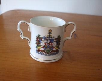 Fenton - St Loye's (Exeter, Devon), Golden Jubilee (1987),  two handled loving cup