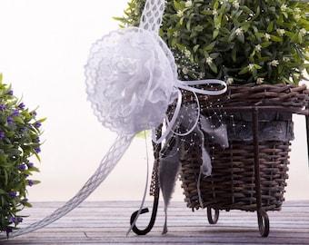 wreath for communion, hair decoration for communion