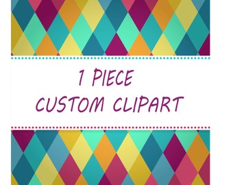 Exclusively Custom Clipart Small Commercial Use