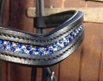 Custom browbands, Blingy and super pretty!!