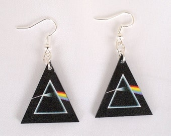 Pink Floyd  Earrings (Dark side of the moon)