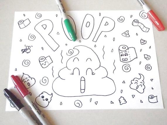 Cacchina kawaii disegno da colorare cacca cacchetta carini for Foto di disegni kawaii
