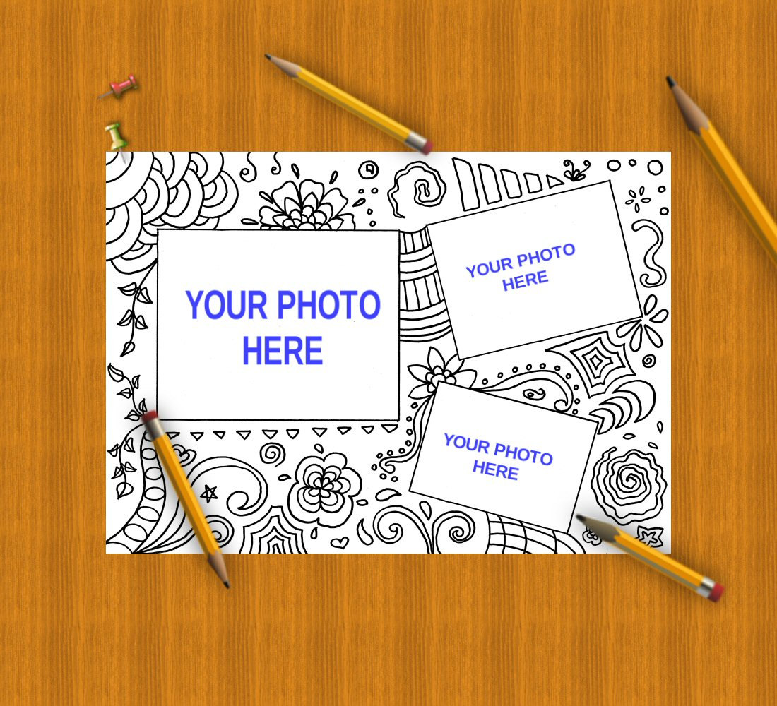 coloring picture frames photo frames adult kids scrapbooking coloring picture frames photo frames adult kids scrapbooking - Download Picture Frames