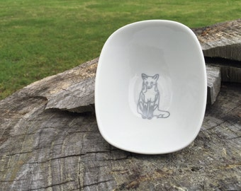 Fox Ring Dish