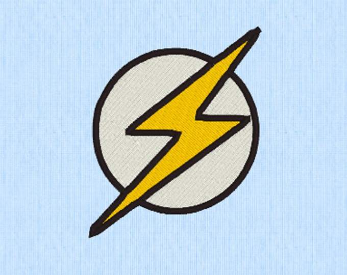 The Flash Embroidery Design