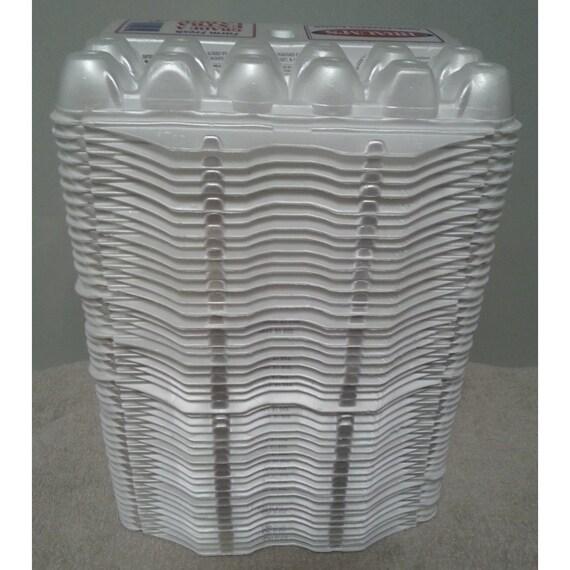 40 used styrofoam extra large egg cartons 12ct hobby crafts for Styrofoam egg carton crafts