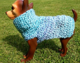Baby Blue Sweater, Blue dog sweater, dog sweater, dog sweaters, blue dog sweater, small dog sweaters, small dog sweater