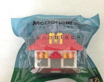 mcdonald nanoblock restaurant